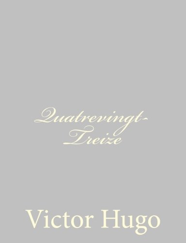9781484891490: Quatrevingt-Treize (French Edition)