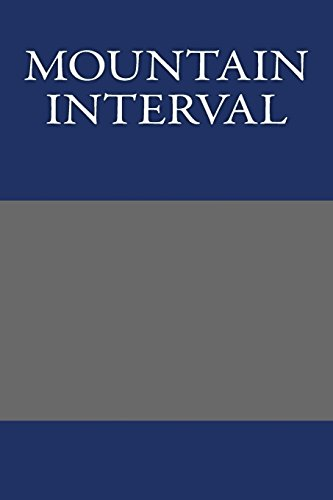9781484892077: Mountain Interval