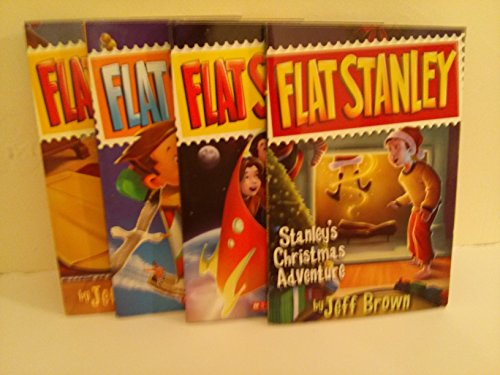 9781484895368: Flat Stanley Book Set : Flat Stanley Original Adventure; Flat Stanley Christmas Adventure; Flat Stanley Again; Flat Stanley in Space (An Unofficial Box Set : Grade 2 - 3)