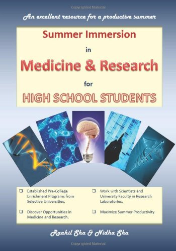 9781484895405: Summer Immersion in Medicine & Research for High School Students