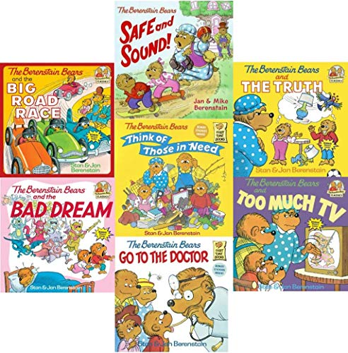 9781484904817: The Berenstain Bears Book Set (7) : The Berenstain Bears and the Bad Dream - The Berenstain Bears Go to the Doctor - The Berenstain Bears and the Big Road Race - Safe and Sound - Berenstain Bears and the Big Road Race - Think of Those in Need (An Unofficial Box Set)
