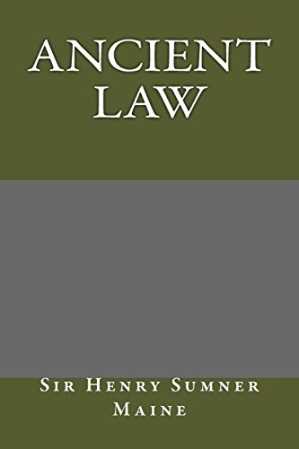 9781484914526: Ancient Law