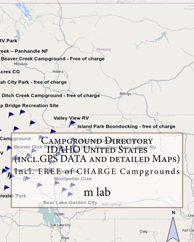 9781484929124: Campground Directory IDAHO United States (incl.GPS DATA and detailed Maps)