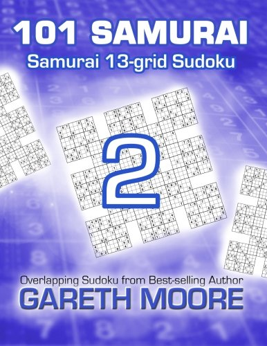 9781484962541: Samurai 13-grid Sudoku 2: 101 Samurai