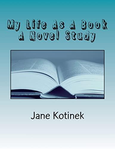 9781484965092: My Life As A Book A Novel Study