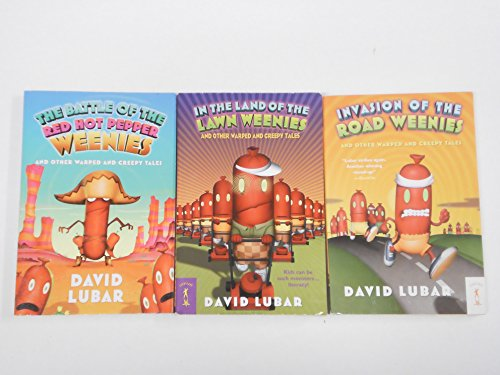9781484972304: The Weenies Series: In the Land of the Lawn Weenies; the Battle of the Red Hot Pepper Weenies; Invasion of the Road Weenies and Other Warped and Creepy Tales (An Unofficial Box Set : Grade 3 - 4)