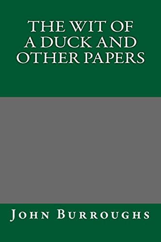 9781484972717: The Wit of a Duck and Other Papers