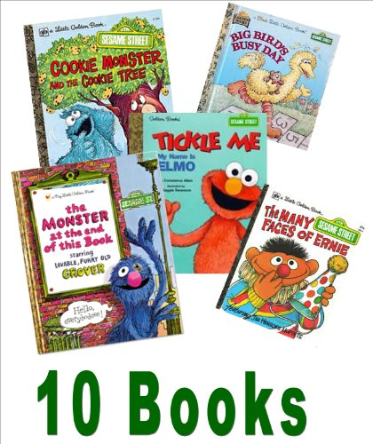 Sesame Street Collection: Muppet Babies, Be Nice; Big Bird's Busy Day Another Monster At the End of This Book; Tickle Me, I'm Elmo; Look, Elmo's Walking First Steps; Puppy Love (Storybook Collection: Little Golden Books) (9781484973462) by Robin McKinley; Diana Wynne Jones; Eloise Jarvis McGraw
