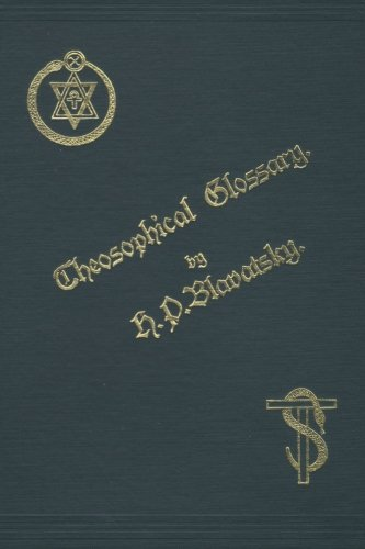 9781484974070: Theosophical Glossary