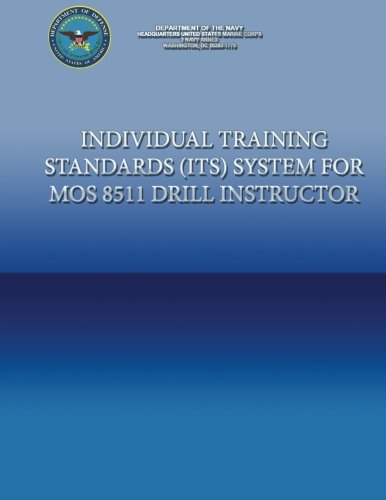 9781484982167: Individual Training Standards (ITS) Systems for MOS 8511 Drill Instructor