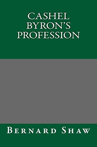 9781484989708: Cashel Byron's Profession