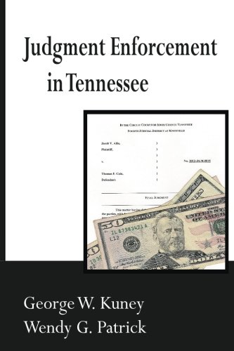 9781484990407: Judgment Enforcement in Tennessee
