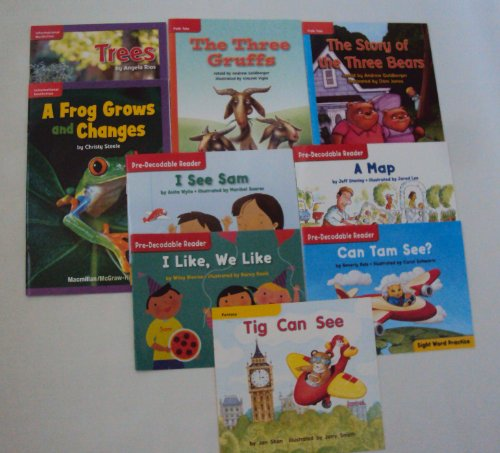 9781484995037: Macmillan Education Level Reader Set: Pre Level / Sight Word Practice - Step 1 (Learning To Read Phonics Book Set)