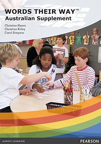 Words Their Way Australian Supplement DVD: Christine Hayes