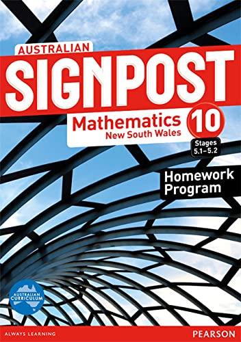 Australian Signpost Mathematics New South Wales 10: David Barton