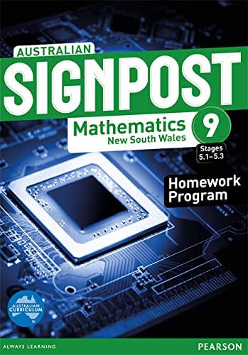 Australian Signpost Mathematics New South Wales 9: David Barton