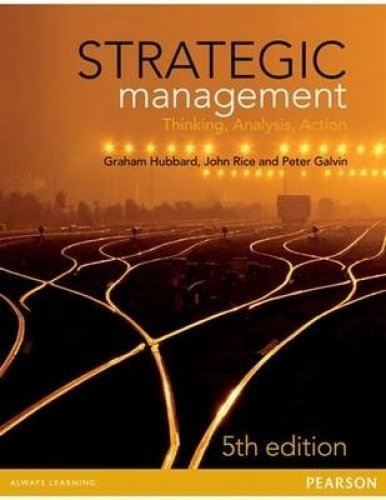 9781486010806: Strategic Management - Thinking, Analysis, Action
