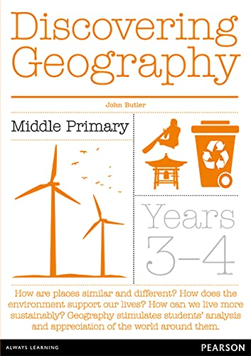 Discovering Geography Middle Primary Teacher Resource Book (Paperback): John Butler