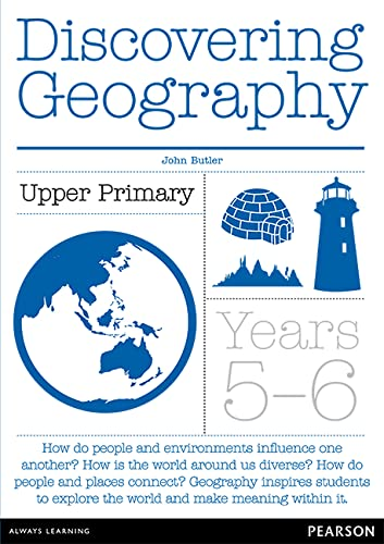 Discovering Geography Upper Primary Teacher Resource Book (Paperback): John Butler