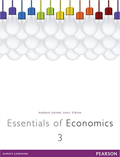 Essentials of Economics (Paperback): Glenn Hubbard