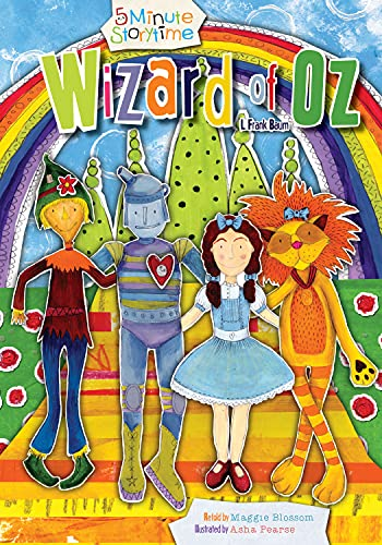 9781486700097: Wizard of Oz (5 Minute Storytime)