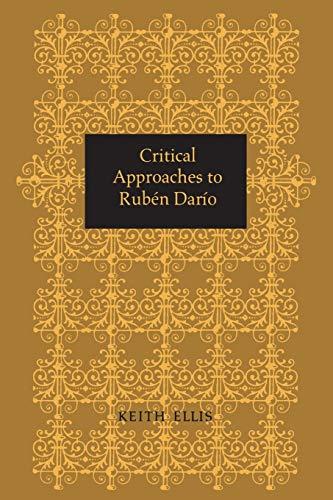 9781487598358: Critical Approaches to Rubén Darío