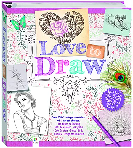 Love to Draw Binder (Hardcover)