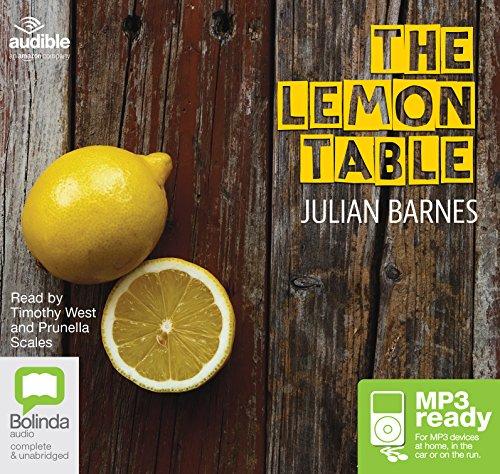 The Lemon Table: Julian Barnes