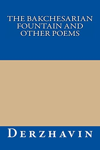9781489521743: The Bakchesarian Fountain and Other Poems