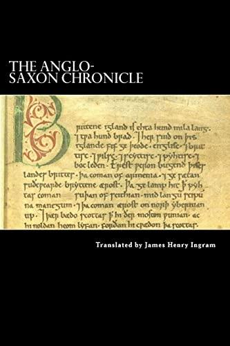 9781489522054: The Anglo-Saxon Chronicle
