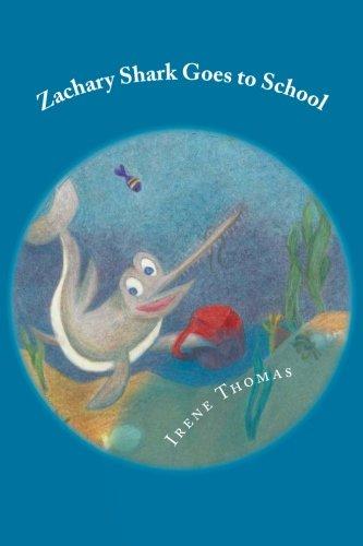 9781489533616: Zachary Shark Goes to School (Volume 2)
