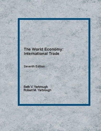 9781489538062: The World Economy: International Trade