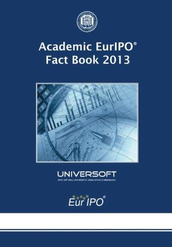 9781489539397: Academic EurIPO Fact Book 2013 (Volume 8)