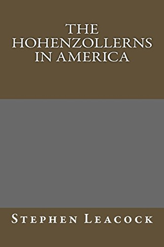 9781489539632: The Hohenzollerns in America