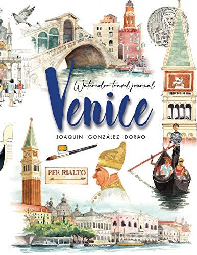 9781489549488: Venice watercolor travel journal