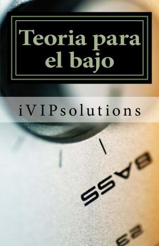 9781489558671: Teoria para el bajo (Spanish Edition)