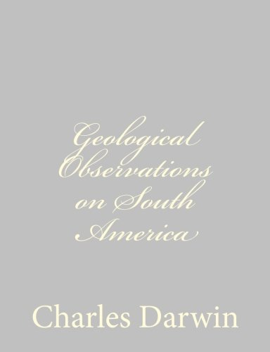 9781489582072: Geological Observations on South America