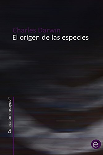 9781489586469: El origen de las especies