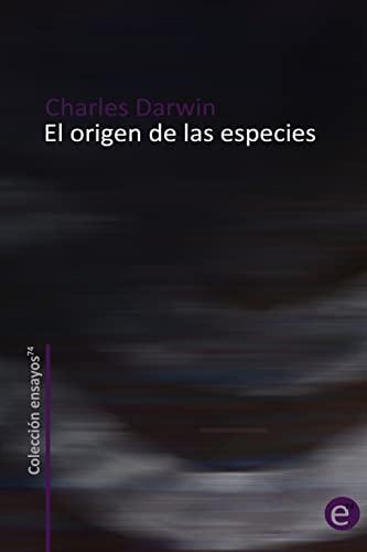 9781489586469: El origen de las especies (Spanish Edition)