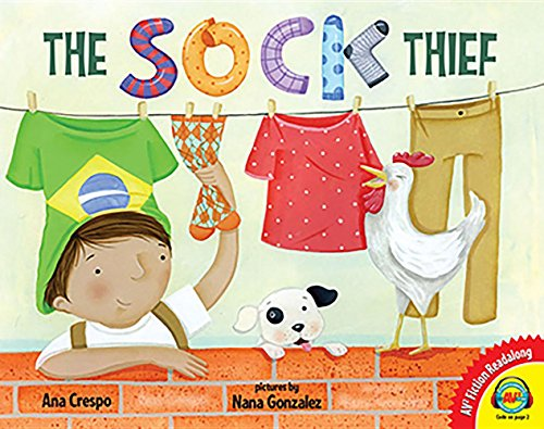 9781489653291: The Sock Thief (Av2 Fiction Readalong 2017)