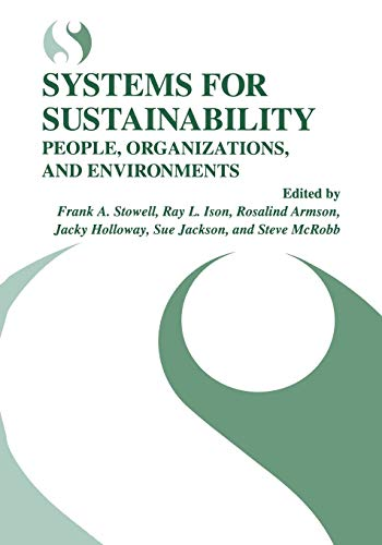 9781489902672: Systems for Sustainability: People, Organizations, and Environments