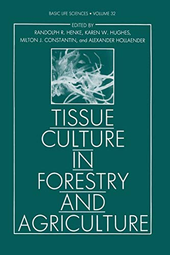 Tissue Culture in Forestry and Agriculture: Alexander Hollaender