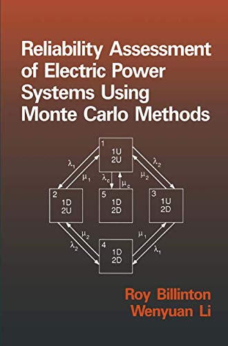 9781489913487: Reliability Assessment of Electric Power Systems Using Monte Carlo Methods