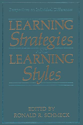 9781489921208: Learning Strategies and Learning Styles (Perspectives on Individual Differences)