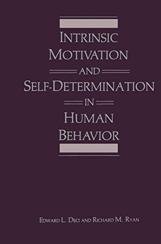 9781489922731: Intrinsic Motivation and Self-Determination in Human Behavior (Perspectives in Social Psychology)