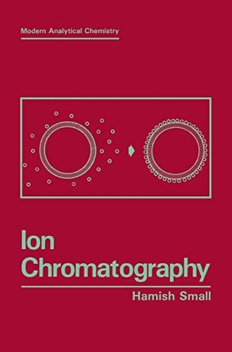 9781489925442: Ion Chromatography