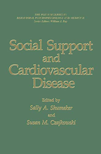 9781489925749: Social Support and Cardiovascular Disease (The Springer Series in Behavioral Psychophysiology and Medicine)