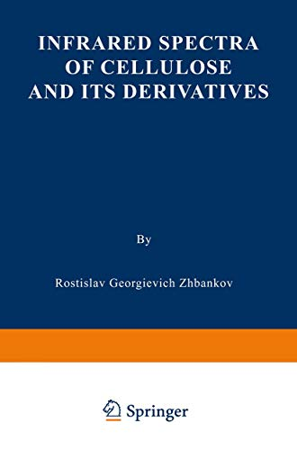 Infrared Spectra of Cellulose and its Derivatives: R. G. Zhbankov