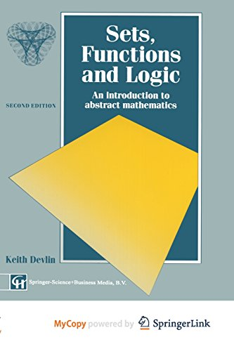 9781489929662: Sets, Functions and Logic