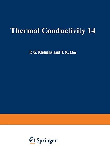 9781489937537: Thermal Conductivity 14